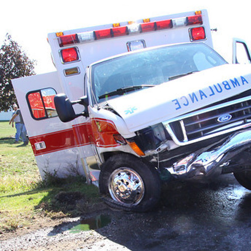 Broken Ambulance