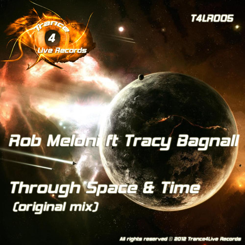 Rob Meloni ft Tracy Bagnall - Through Space & Time - Preview - Out Now In All Stores!