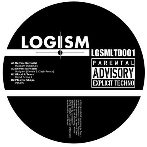 "LOGISM Limited#1 12"" Vinyl (Kemmi Kamachi,Blood&Tears,Plasmic Shape)"