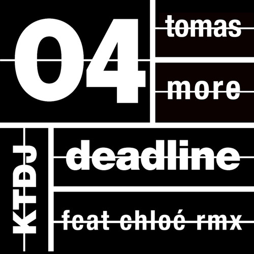 Tomas more: The invisible thread. Chloé straight mix (on est pas vraiment sur) [ktdj deadline04]