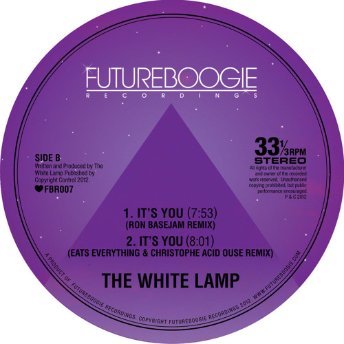 It's You (Ron Basejam Remix) - The White Lamp by