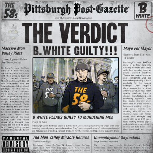 B.White - The Verdict - Introduction  {prod. M-Pyre}