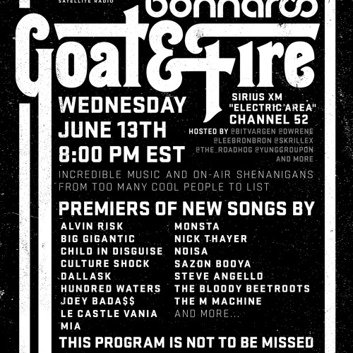 Goat & Fire Radio Episode 2 (Live From Bonnaroo) Part 2/4