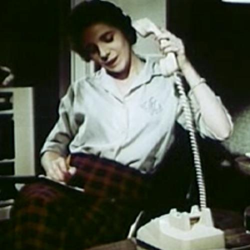 Owen Murphy Lady - New York Telephone 'Permanent Signal' Recording (vintage telephone sound)