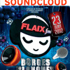 Falca de la festa Flaix FM per la nit de Sant Joan