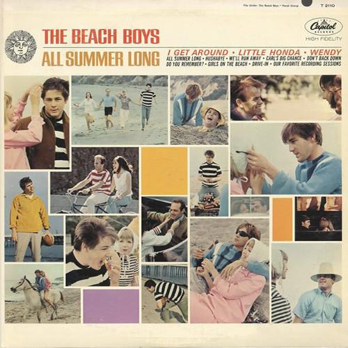 THE BEACH BOYS - All Summer Long (BW mono panning remix)