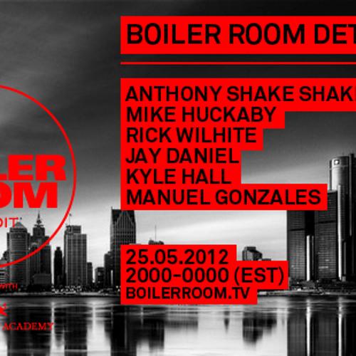 Kyle Hall 35 min Boiler Room DJ Set by Boiler Room | Free Listening