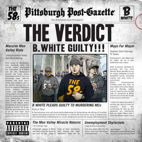 The58s - B.White ft. Mayo - Every Minute - (prod. Swoots)