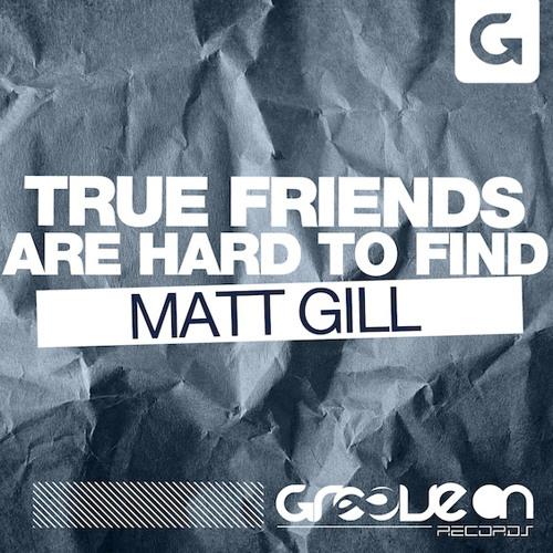 Matt Gill-True Friends Are Hard To Find