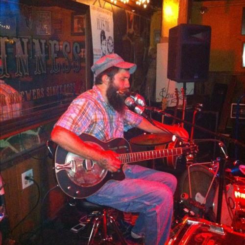 Ben Prestage - one man band at Fly's Tie Irish Pub
