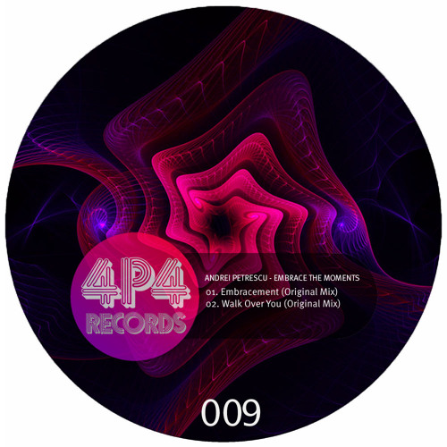 Andrei Petrescu - Walk over you/Embrace The Moment EP [4P4009/4P4Records] Available August 3rd 2012