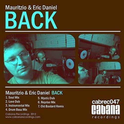 Mauritzio feat. Eric Daniel  - Back  - Old Bastard mix