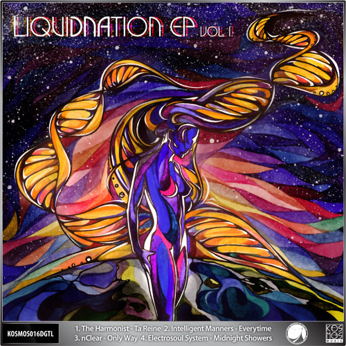 KOSMOS016DGTL V/A LiquiDNAition EP Vol.l (Preview Mini-mix)
