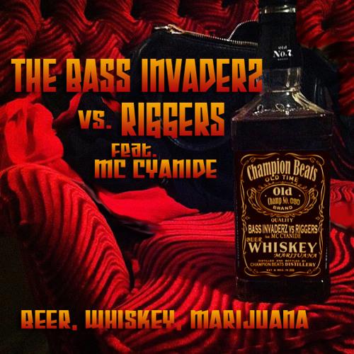 The Bass Invaderz vs Riggers w/ Mc Cyanide (CHEEKY D REMIX)