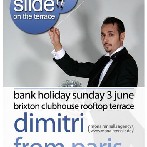 Dimitri From Paris Live @ Brixton Clubhouse, London for Slide On The Terrace 3-6-12