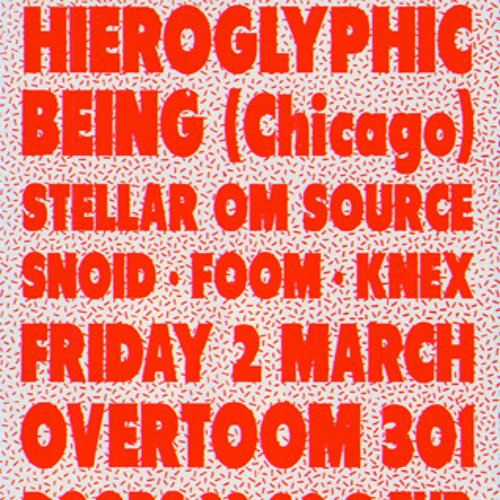 Hieroglyphic Being at Club 4 Reel 02/03/2012