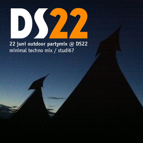 outdoor partymix @ DS22 minimal techno by studio67
