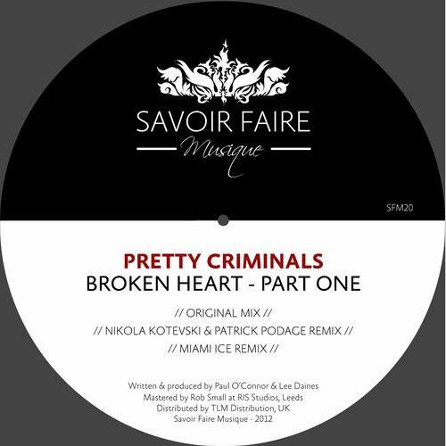 Pretty Criminals - Broken Hearts(Patrick Podage & Nikola Kotevski Rmx)[ SavoirFaireMusique - SFM20 ]