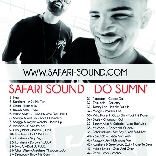 SAFARi SOUND - DO SUMN' MiXTAPE SUMMER 2012