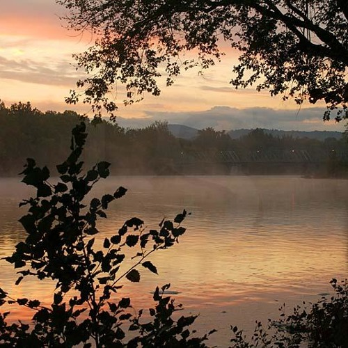By the riverside- Tom Benter