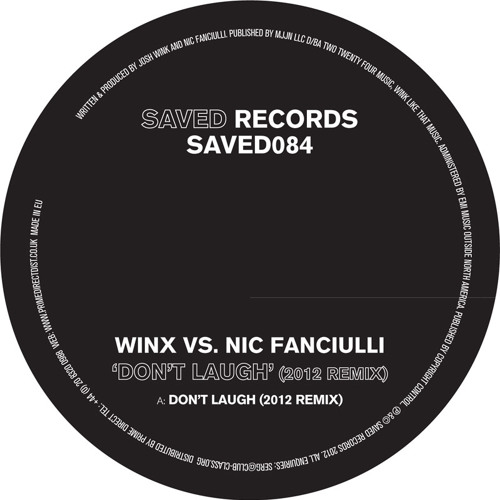 WINX VS NIC FANCIULLI  - DON'T LAUGH (2012 REMIX)