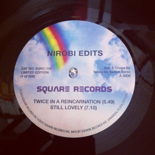Nirobi Edits Square Records 4 Track 12""
