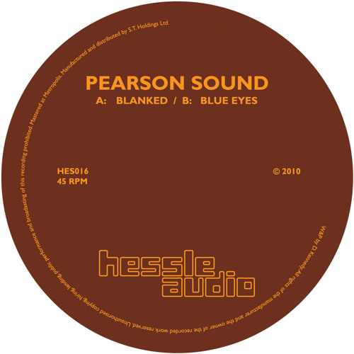 Pearson Sound - Blanked [2010]