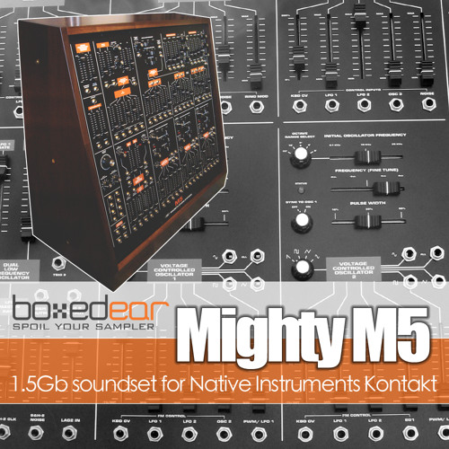 Mighty M5 Preset - Gritty Lead