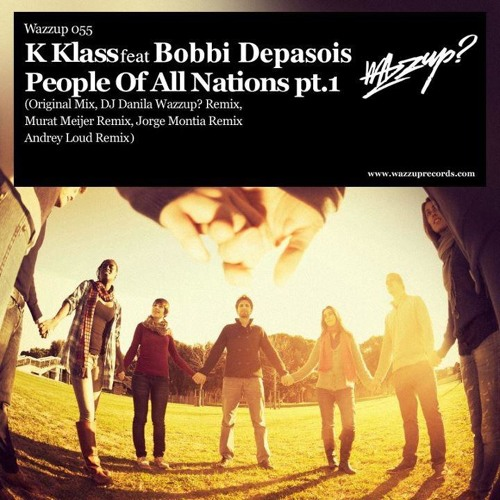 K-Klass - People Of All Nations (Andrey Loud remix) - preview