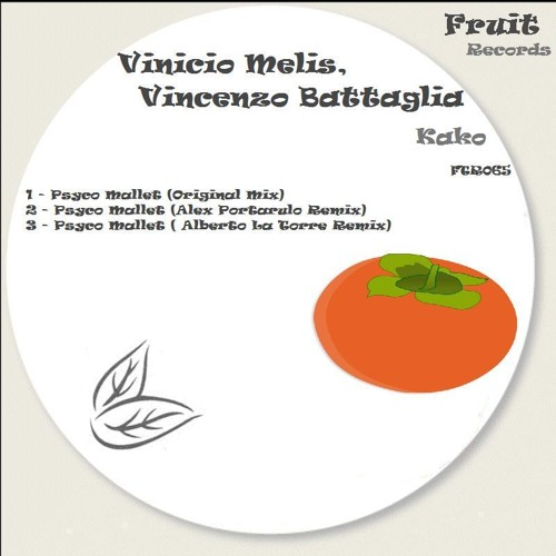 Psyco Mallet - Vinicio melis e vincenzo battaglia -original label FRUIT RECORD