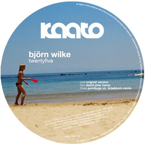 "Kaato Music 034-1: Björn Wilke ""Twentyfive"" (Snippet)"