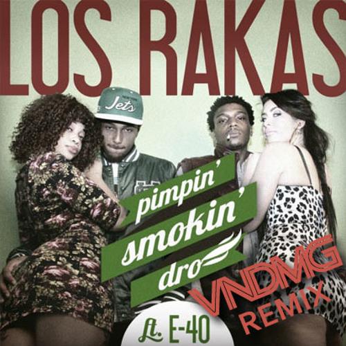 Los Rakas feat E40 - Pimpin' Smokin' Dro (VNDMG Re-mix)