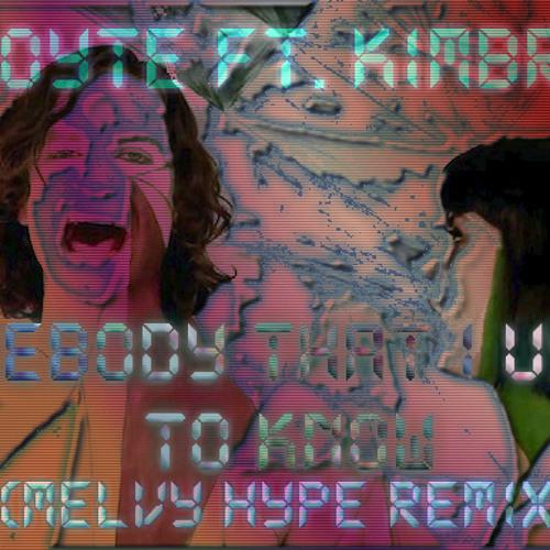 Goyte - Somebody that I used to know (Melvy Hype Remix)
