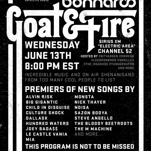 Goat & Fire Radio Episode 2 (Live From Bonnaroo) Part 1.1/4