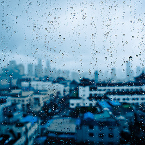 Drops over the city