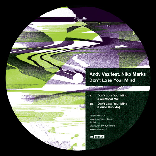 Andy Vaz feat. Niko Marks - Don't Lose Your Mind (Soul Vocal Mix) [dsr-h4]