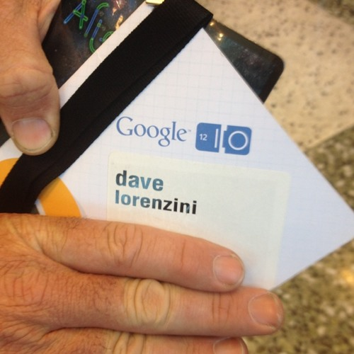 The contextual world with Dave Lorenzini inventor behind Google Earth at Google I/O 2012