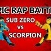 Sub-Zero vs Scorpion - EPIC RAP BATTLE -