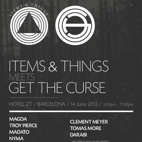 2012-06-14 Madato (live) @ Items & Things meets Get The Curse, Barcelona