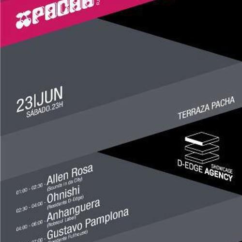Anhanguera live @ Pacha (Terraza) | D-Edge Agency ShowCase - Florianópolis, Brazil (23.06.2012)