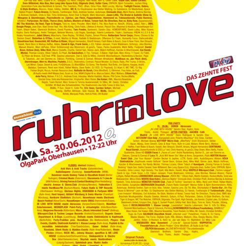 Kanzler & Wischnewski (DJ Set Andree) @ Ruhr in Love 30.06.2012