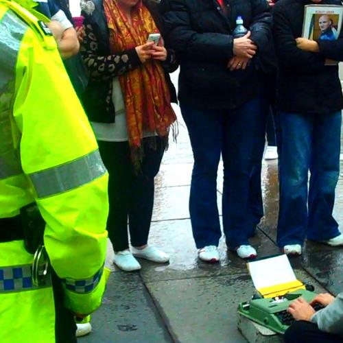 Direct Action Flâneurs @ Edinburgh Scottish Parlimant