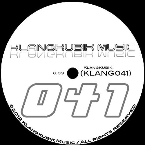 Klangkubik - KLANG041 Pre-Final