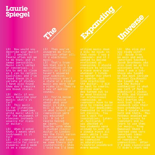 Laurie Spiegel - Patchwork