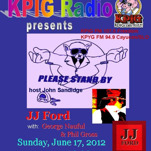 JJ Ford Live on KPIG Radio