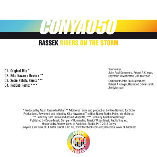 Rassek- Riders On The Storm (Kiko Navarro Rework)