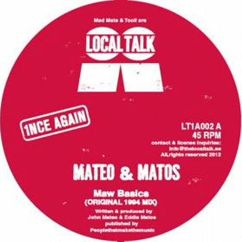 MATEO & MATOS - RAW BASICS (GERD'S NY STOMP MIX & DEEP RMXs) OUT NOW!