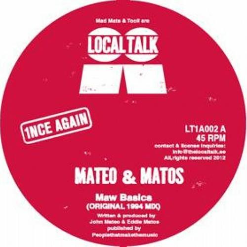 MATEO & MATOS - RAW BASICS (GERD'S NY STOMP MIX & DEEP RMXs) OUT NOW!