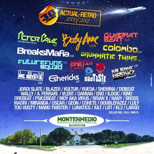 "Martin Flex @ Universal Festival, Montenmedio, Spain - 30th June 2012 ""FREE DOWNLOAD"""