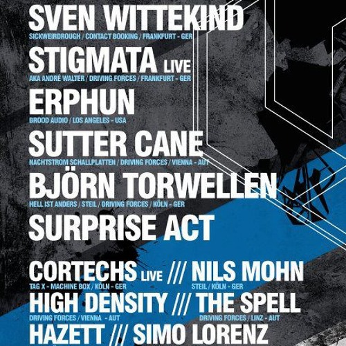Cortechs @ DFR Labelshowcase - Official Ruhr In Love Aftershow Party 2012